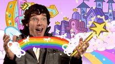 The internet stages of falling in love with Benedict Cumberbatch