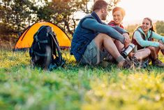 Camping is a chance to enjoy the outdoors, re-energize and create lasting memories with family and friends. Make sure those memories are good ones by packing these 11 essentials (plus the tent…don't ever forget the tent). Camping Items, Camping Packing, Stomach Problems, Bulk Up, Injury Prevention, Health Matters, Large Tote, Health And Safety