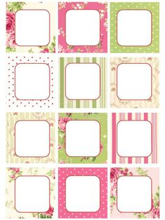 Printable tags - labels - note #Border #Frame #Stationaty #Binders #Folders #Tags #Printable #Notes #Bordes #Marcos #Esquelas #Etiquetas #Cartas #Letters Name Tag For School, Quilting Stitch Patterns, Line Doodles, Washi Tape Planner, School Labels, Borders For Paper, Writing Styles, Printable Labels, Printing Labels