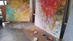 Sharon Barr Paintings Follow instagram @sharonbarrpaintings #sharonbarrpaintings Abstract Oil, Oil On Canvas, Paintings, Artist, Color, Instagram, Paint, Painting Art, Artists