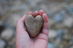 I collect heart-shaped rocks #nature #heart