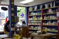 Oxford's only paint your own pottery studio! Located Uptown.