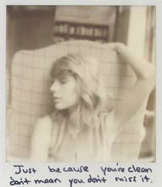 Taylor Swift Polaroid 12 - Clean #1989 | I have this one <3