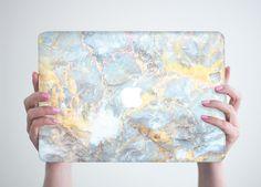 Stone Marble Macbook Pro 13 Hard Case Pro by RealDesignRocks