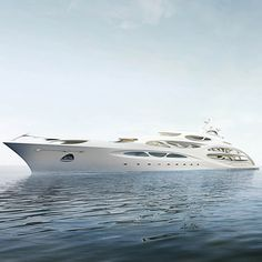 Superyacht by Zaha Hadid Look & Visit #http://bloggabout.com please