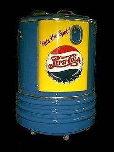 Antique PEPSI-COLA Deep Freeze Machine