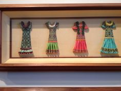 Polymer art at New Britain Museum of American Art, Hawaiian Art exhibit. Photo by C. Pruitt