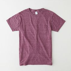 My favorite pocket tee right now by Velva Sheen. I have it in all the colors. - Nelson