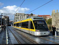 RailPictures.Net Photo: MP 037 Metro do Porto Bombardier Eurotram at Porto, Portugal by Beppe