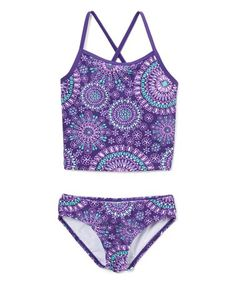 d0bf25ee4b Purple Melanie Tankini - Toddler  amp  Girls