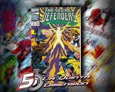 SECRET DEFENDER # 2 DE 1993. $ 50.00 Para más información, contáctanos en http://www.facebook.com/la5aDimension