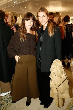 Miroslava Duma and Gaia Repossi