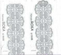 Web Pics and Patterns - Blanca Torres - Веб-альбомы Picasa Crochet Trim, Crochet Shawl, Diy Crochet, Web Pics, Bobbin Lacemaking, Bobbin Lace Patterns, Embroidery Patterns, Decorative Borders, Wedding Garter