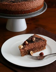 GF Chocolate Hazelnut Mousse Cake