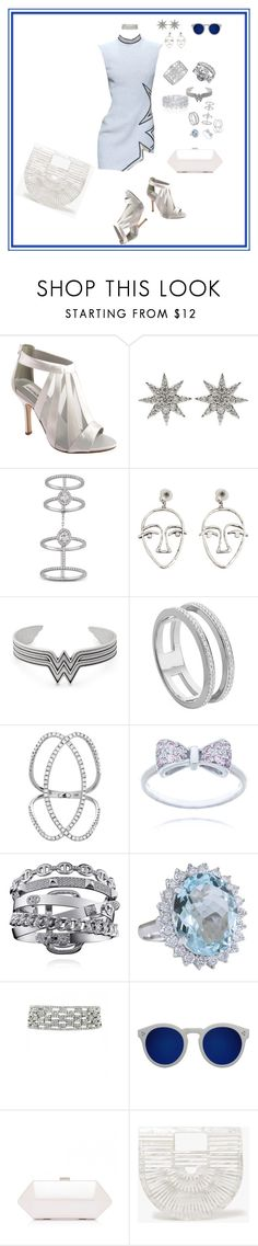 """""""its a jewerly thing"""" by joniprivett578 on Polyvore featuring Dyeables, Bee Goddess, Messika, MANGO, Graff, Alex and Ani, Monica Vinader, Illesteva and Robert Clergerie"""