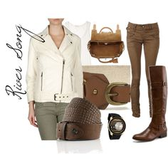 """""""River Song"""" by companionclothes on Polyvore"""