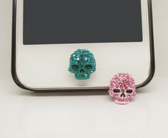 ETSY Black Friday/Cyber Monday 1PC Bling Crystal Wreath Jewel iPhone Home Button Sticker Charm for iPhone 4s,4g,5,5c Valentine Gift on Etsy, $3.27 CAD