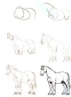 şaha Kalkmış At Resmi çizimi çizim Boyama Ve Taşlar 2019