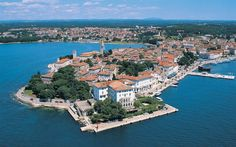 Porec, a nice old city in Croatia! Montenegro, The Places Youll Go, Places To Visit, Plitvice National Park, Western Coast, Costa Rica Travel, Cities In Europe, Croatia Travel, Australia Travel
