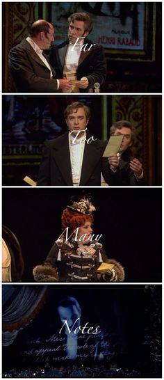 I saw Phantom a couple of days ago in the West End and this bit cracked me up!