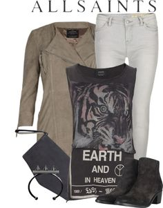 """""""Allsaints 3"""" by stacy-gustin ❤ liked on Polyvore"""