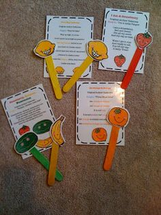 fruit songs printables