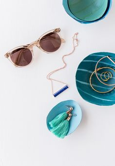 Organize your accessories with a DIY jewelry dish project inspired by our Spring 2017 collection.