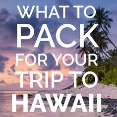 Hawaii Packing List: Outfits for Hawaii Vacation Hawaii Packing List: Outfits for Hawaii Vacation: What to take to Hawaii: Hawaii Travel Essentials Honeymoon Vacations, Hawaii Honeymoon, Maui Vacation, Hawaii Travel, Vacation Destinations, Usa Travel, Visit Hawaii, Hawaii Hawaii, Hawaiian Cruises