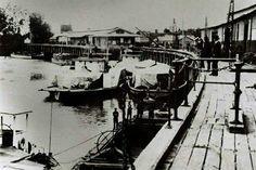 Echuca Wharf in Victoria in Murray River, Melbourne Victoria, South Australia, Historical Photos, Old Photos, Boats, Vietnam, Empire, British