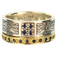 Anthemion Gold Band Ring. See more at www.athenas-treasures.com
