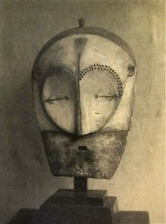 Mask (fang helmet), 1930s. Man Ray Trust