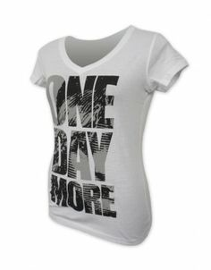 Les Miserables Ladies One Day More V-Neck Tee
