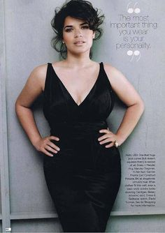 """""""The most important thing you wear is your personality."""" -America Ferrera"""