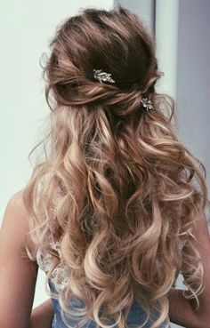 Cute Hairstyles For Dances