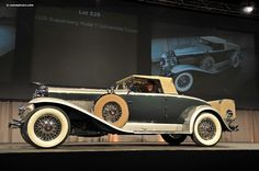 1929 Duesenberg Model J Murphy Images, Information and History | Conceptcarz.com