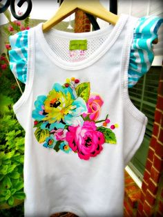 Tutorial: How to add a Ruffled flutter sleeve to a tank top