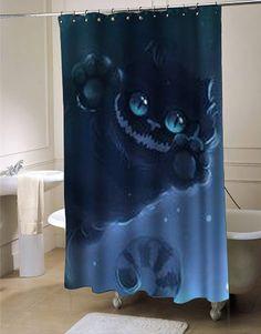 cheshire cat shower curtains #showercurtain #showercurtains #curtains #bath #bathroom #homeandliving