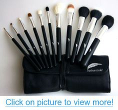 Makeup Brush Set - Complete - All 11 Essential Brushes with Pouch - Professional Designer Cosmetic Brush Kit - Best Quality - Combo Synthetic/Natural Hair - Stylish Ergonomic Handles - Tested $ Proven - At Home or Travel - 30 Day Money Back Guarantee