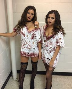 60 Ideas Makeup Diy ZombieYou can find Zombie costumes and more on our Ideas Makeup Diy Zombie Halloween Outfits, Halloween Costumes For Teens, Easy Costumes, Costumes For Women, Halloween Couples, Homemade Costumes, Family Costumes, Group Costumes, Diy Zombie Kostüm