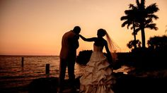 Highlights from wedding at Rusty Pelican by Tampa Videographers Celebrations of Tampa Bay http://celebrationsoftampabay.com/