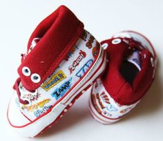 Little Boys Comic Crib Shoes