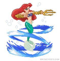 Las princesas de Disney como personajes de juegos de lucha 2D
