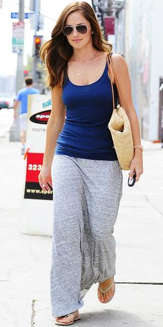 Look of the Day: September 3, 2012 - Minka Kelly : InStyle.com