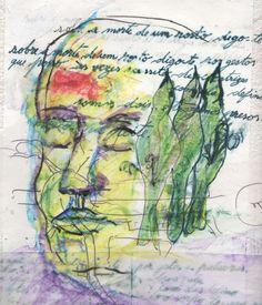 LUIS DESENHA: Desenho para um Poema de Celeste Craveiro.