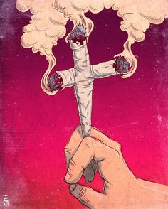 & the gods came down & showed the world how to toke