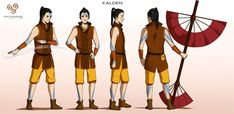 Commission: Kalden - Character Concept Design by Marina-Shads on deviantART