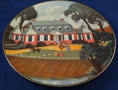 Mouse over image to zoom    Sell one like this  Mulberry Plantation Moncks Corner S Carolina Robert Franke Limited Edition Plate $39.99 free shipping