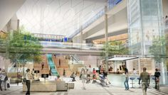 modern mall interior | Springfield Mall VA