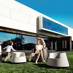 Vondom - Roulette Chair - Gray