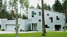 Aluminium House (Architektid Muru & Pere, Rannamoisa, Estonia, 2008)